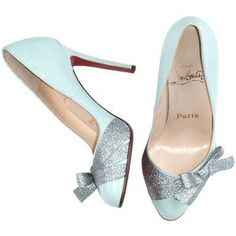 Tiffany blue Louboutins