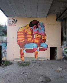 Graffitis et Illustrations / Aryz | AA13 – blog – Inspiration – Design – Architecture – Photographie – Art