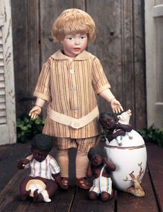 """Theriault's Antique Doll Auctions - 17"""" K*R 112 ca. 1910"""