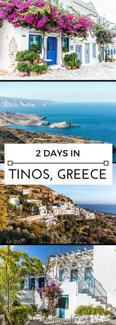 2 days on the Greek island of Tinos one of the most underrated places in the Cyclades Tinos Greece, Greece Honeymoon, Best Places To Travel, France, Beautiful Places To Visit, Greece Travel, Greek Islands, Dream Vacations, Travel Around The World