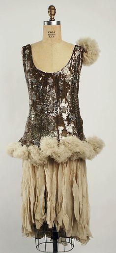 Dress, circa 1920s, at Metropolitan Museum of Art.