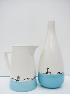 Beautiful Karoo inspired ceramics from Tamarillo Ceramics