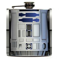 R2-D2 Flachmann on http://www.drlima.net