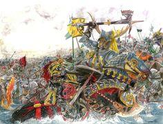 The Battle of the Trident by AbePapakhian, via deviantart