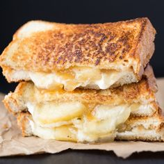 One of the most delicious dessert grilled cheese sandwiches you'll ever have!