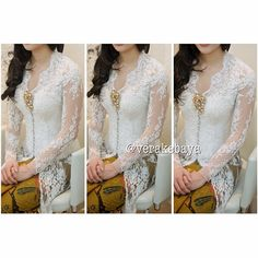 Will be a perfect kebaya for the holy matrimony