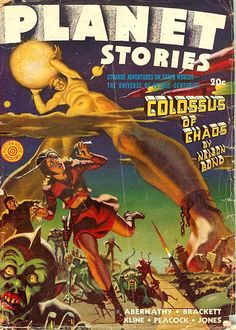 1940s PLanet Stories. #scifi #space