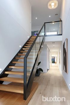Parkmore Road, Bentleigh East VIC Image 6 design modern stairways Sold Parkmore Road, Bentleigh East VIC 3165 on 07 May 2016 - 2012731866 Staircase Design Modern, Home Stairs Design, Modern Stairs, Home Interior Design, Interior Stair Railing, Stair Railing Design, Railings, Small House Design, Modern House Design