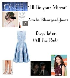 """""""OUAT - S6E8 - *I'll Be your Mirror*"""" by c-a-marie2000 ❤ liked on Polyvore featuring Missguided, Allurez, Bling Jewelry, MAC Cosmetics, Temperley London, onceuponatime, ouat and ameliablanchard"""
