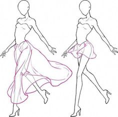 ideas for skirt tutorial drawing fashion sketches fashion drawing skirt new ideas for fashion drawing sketches ideas Drawing Base, Drawing Tips, Drawing Sketches, Art Drawings, Drawing Tutorials, Drawing Ideas, Sketching, Drawing Stuff, Art Tutorials