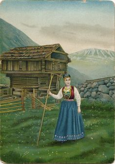 Norway painting by Tinn Gjaustafeld