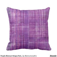 Purple Abstract Stripes Pattern Art