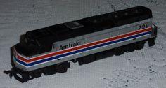 Life-Like Amtrak 229, Diesel Locomotive Engine Train HO Scale COLLECTIBLE GIFT!  #Unbranded Locomotive Engine, Diesel Locomotive, Train Sets For Sale, Paper Train, Ebay Auction, Ho Scale, Engineering, Gift, Collection