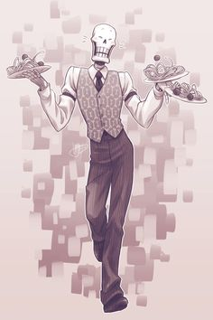 Dapper Papper by frostious on DeviantArt Undertale Memes, Undertale Fanart, Undertale Comic, Undertale Drawings, Underswap, Fnaf, Determination, Dapper, Nostalgia