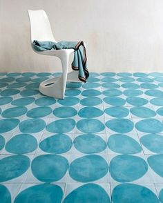 Cement floor tiles sound unexciting but don't be fooled . Here are the best contemporary cement floor tiles in gorgeous colours and stunning patterns. Morrocan Patterns, Moroccan Tiles, Tile Patterns, Modern Moroccan, Turkish Tiles, Portuguese Tiles, Floor Design, Tile Design, Ceramic Design