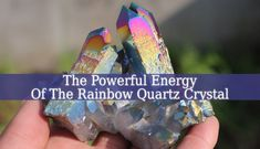 Rainbow Quartz Crystal – It Is Time For You To Make A Wish  The Rainbow Quartz Crystal is a powerful manifesting stone. It also brings balance and harmony. Use this crystal to make your dreams come true.