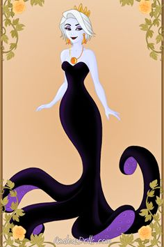 Young Ursula  By: GingerCookie