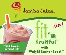 The mango peach, is blissful. Love me some jamba juice!