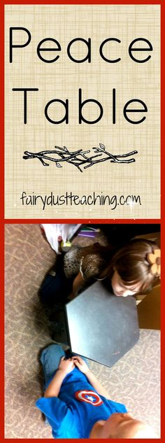 Place the power of conflict resolution in the children. Learn more @ fairydustteaching.com