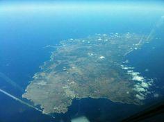 Menorca desde el aire