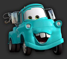 Fanpop original article: Disney and Pixar's Cars Tow Mater is a perfect mixture of good ole boy, ladies' m. Imprimibles Hot Wheels, Disney Tangled, Disney Cars Movie, Cars Cartoon Disney, Movie Cars, Tow Mater, Car Themes, Cars Birthday Parties, Cute Cars