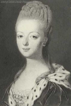 1770 young Marie Antoinette, Unknown.