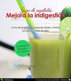 Hábitos Health Coaching | JUGO DE VEGETALES MEJORA LA INDIGESTIÓN