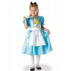 Filles classique alice costume robe tablier collants enfants école livre semaine robe fantaisie