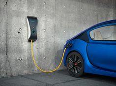 Electric vehicle charging station design for personal design study. Ev Charger, Electric Car Charger, Electric Car Concept, Electric Cars, Electric Vehicle, Bmw I3, Nissan Leaf, Toyota Prius, Tesla Model S
