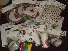 Hungry Caterpillar Birthday Party stuff, cool idea for Mia's 1st Birthday