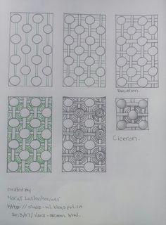 zentangle pattern ciceron creator marut lustenhouwer | Flickr - Photo Sharing!