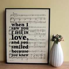 Gotta do this with the sheet music for i Wont Give Up by Jason Mraz!