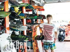 EXO's Chen goes wakeboarding for 'The Celebrity' | allkpop.com