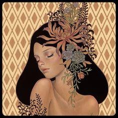 Amazing illustrations by Audrey Kawasaki