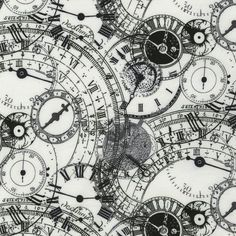 Does anybody really know what time it is? This is fabric. I have no idea where to find this!