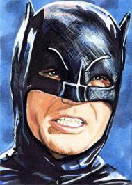 Batman - Adam West by ~veripwolf on deviantART