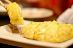 Tamagoyaki - przepis na drugie śniadanie Cornbread, Ethnic Recipes, Food, Millet Bread, Corn Bread, Meals