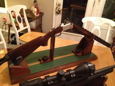 My Gun Vise Made From Walnut Made by Bob Lehnig