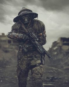 Post Apocalyptic Art Concept 🔥 __ Art by Viktor Poda Apocalypse Armor, Apocalypse Survivor, Apocalypse Character, Apocalypse World, Post Apocalyptic Costume, Post Apocalyptic Art, Cyberpunk Rpg, Cyberpunk Character, Airsoft