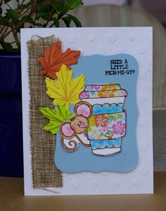 Handmade Cards By Helen: Fall Coffee Lovers Hop