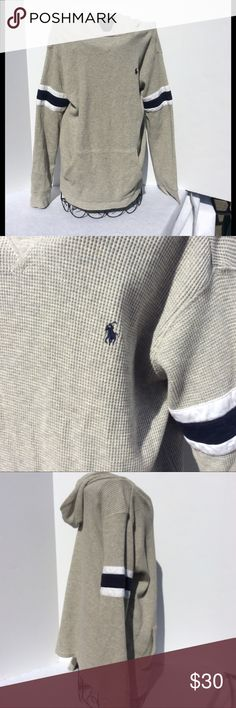 Ralph Lauren light weight youth hoodie sz L Ralph Lauren youth hoodie size L 12-14. My son never wore this. Smoke free home. Ralph Lauren Shirts & Tops Sweatshirts & Hoodies