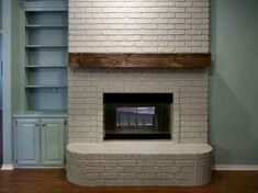 Beautiful rustic DIY mantel