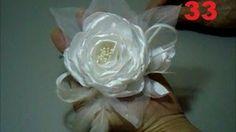 Flores de tecido: curso com várias aulas