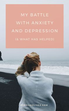 My Battle with Anxiety and Depression (and what has helped) | Here are strategies and techniques on managing anxiety. Find out how I overcame my anxiety and depression #strategy #anxiety #help #depression #anxiety #fear #solution