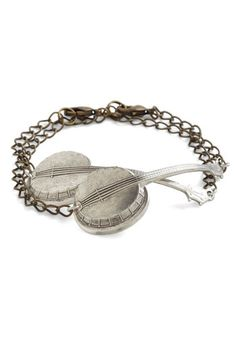 I actually love the way a banjo sounds, and this bracelet would be a fitting testament to that!  :)
