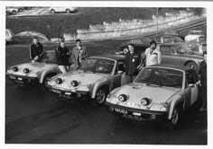 Porsche 914-6 GT's.