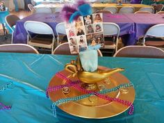 Odette A's Birthday / Aladdin and Jasmine - Photo Gallery at Catch My Party 1 Year Birthday, 5th Birthday Party Ideas, Birthday Parties, Disney Sweet 16, Jasmin Party, Aladdin And Jasmine, Shimmer N Shine, 1st Year, Disney Theme