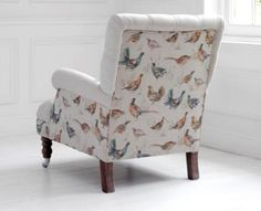 Voyage Maison Cornelius Game Birds Special Arm Chair with cushion - FREE DELIVERY Lounge Furniture, Upholstered Furniture, Couch Cushions, Couches, Sofa, Glass Room, Living Room Decor, Living Rooms, Cool Walls