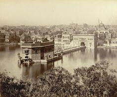Rare photo of Golden Temple in Amristar. — in Amritsar, India. Rare Photos, Old Photos, Ancient Indian History, Harmandir Sahib, Shri Guru Granth Sahib, Golden Temple Amritsar, Guru Pics, Sai Baba Wallpapers, Indian Temple