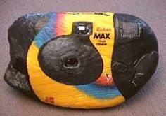 Painted rock! :O